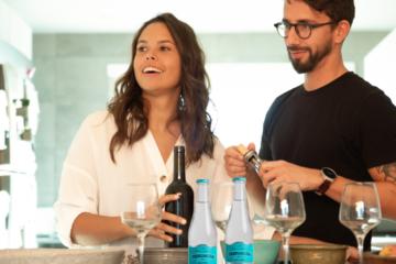 los beneficios del agua mineral para el corazón