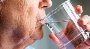 deshidratación en la tercera edad
